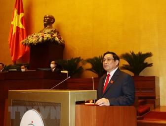 Họp Quốc hội: Thủ tướng trình cơ cấu 27 thành viên Chính phủ khóa mới