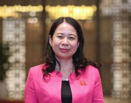 Bà Võ Thị Ánh Xuân tái đắc cử chức Phó Chủ tịch nước
