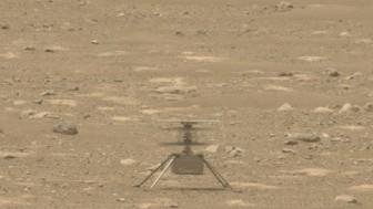 Trực thăng sao Hỏa thực hiện chuyến bay thứ 10, vượt xa dự định ban đầu
