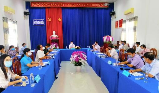 Tịnh Biên tập trung thực hiện tốt Chỉ thị 16/CT-TTg của Thủ tướng Chính phủ