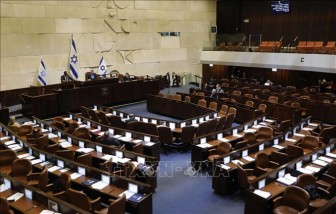 Quốc hội Israel thông qua quy chế luân phiên thủ tướng
