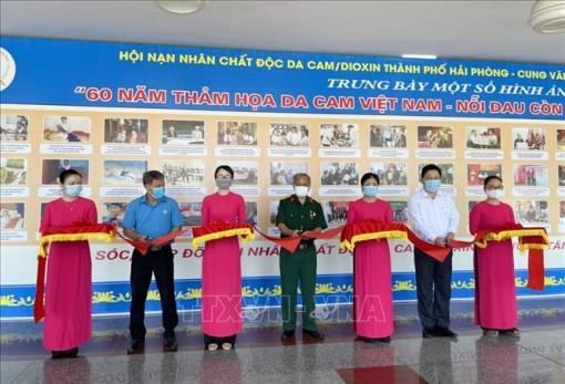 Triển lãm ảnh '60 năm thảm họa da cam Việt Nam-Nỗi đau còn đó-Nhân chứng lịch sử'