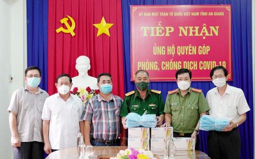 Tiếp nhận nguồn lực ủng hộ Quỹ Phòng, chống dịch COVID-19 tỉnh An Giang