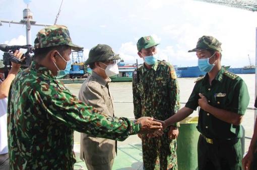 Chống buôn lậu ở tuyến biên giới An Giang