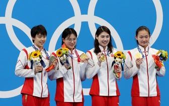 Xác lập mới bảy kỷ lục Olympic