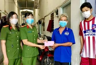 Hỗ trợ 5 triệu đồng cho cha con ông Huỳnh Ngọc Giàu