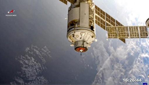 Module phòng thí nghiệm của Nga cập bến trạm vũ trụ sau chuyến bay 8 ngày