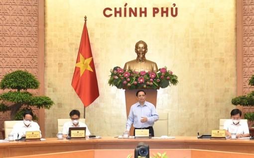 """Thủ tướng Phạm Minh Chính: Cần có cách tiếp cận, giải pháp mới để tiếp tục thực hiện """"mục tiêu kép"""""""