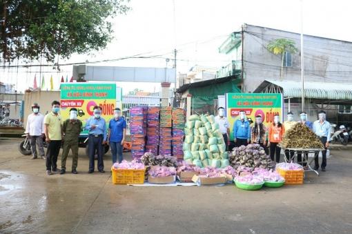 UBMTTQVN huyện Châu Thành tặng trên 12.580 phần quà cho người dân gặp khó khăn do ảnh hưởng dịch COVID-19