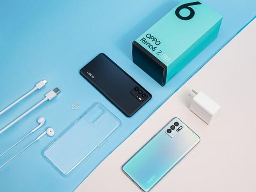 Oppo Reno6 Z trang bị kết nối 5G được mở bán