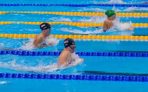 Kình ngư Nam Phi phá kỷ lục thế giới 200m bơi ếch nữ