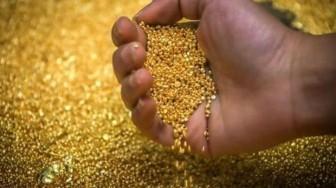 Giá vàng trên thị trường thế giới tăng gần 3% trong tháng Bảy