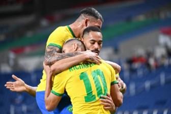 1 bàn thắng duy nhất, Olympic Brazil tiến vào bán kết