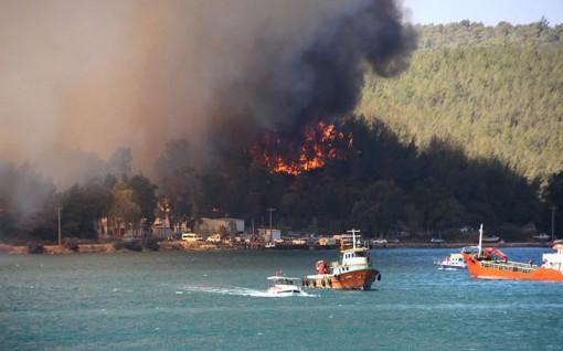 Cháy rừng ở Thổ Nhĩ Kỳ, bốn người chết