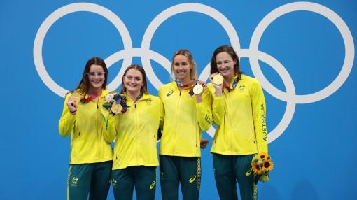Mỹ và Australia thống trị đường đua xanh Olympic Tokyo 2020