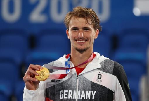 Alexander Zverev đi vào lịch sử khi vô địch Olympic 2020