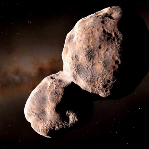 Tiểu hành tinh đỏ mang vật liệu sinh học xâm nhập từ ngoài Hệ Mặt Trời
