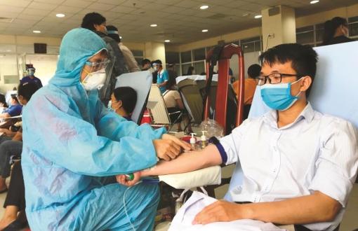 Hiến máu cứu người trong giai đoạn dịch bệnh