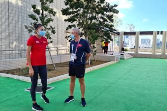 Đoàn thể thao Việt Nam dự Olympic về nước ngày 4-8