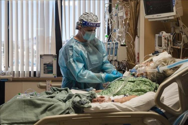 Mỹ vượt mốc 35 triệu ca dương tính với SARS-CoV-2