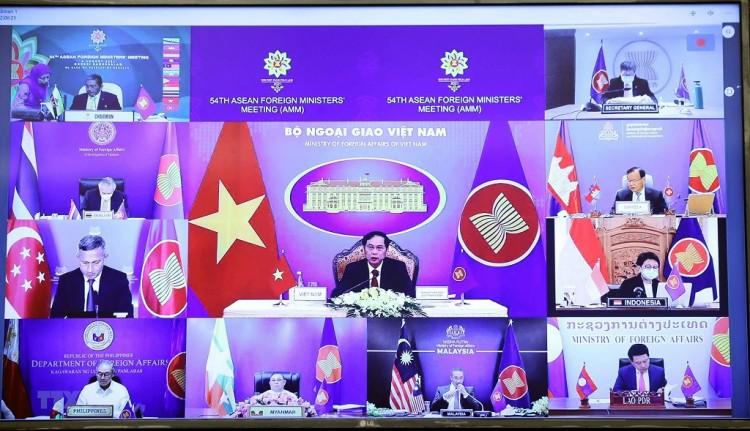 ASEAN thúc đẩy xây dựng Cộng đồng, phát triển quan hệ đối ngoại