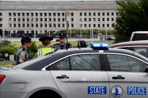 Nổ súng gây thương vong bên ngoài trụ sở Bộ Quốc phòng Mỹ