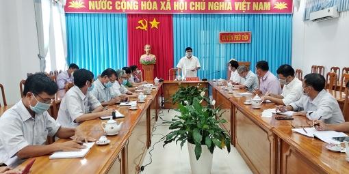 Phú Tân tăng cường giải pháp phòng, chống dịch COVID-19 trong thời gian kéo dài giãn cách xã hội