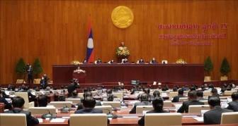 Lào khai mạc kỳ họp bất thường lần thứ nhất Quốc hội khóa IX