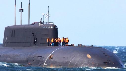 Tàu ngầm hạt nhân Nga gặp sự cố, trôi dạt trên vùng biển Đan Mạch