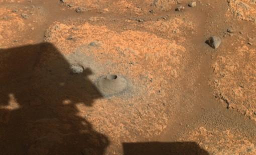 Tàu thám hiểm Perseverance thất bại trong lần lấy mẫu đá đầu tiên trên sao Hỏa