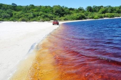 Hồ nước coca cola độc nhất vô nhị ở Brazil