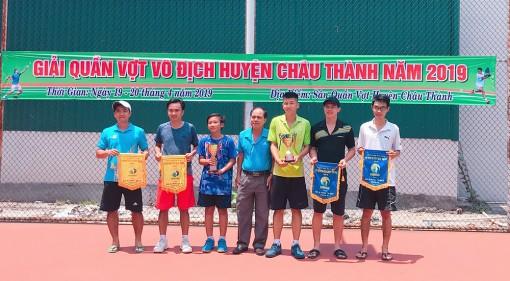 An Giang phát triển phong trào quần vợt trong nhân dân
