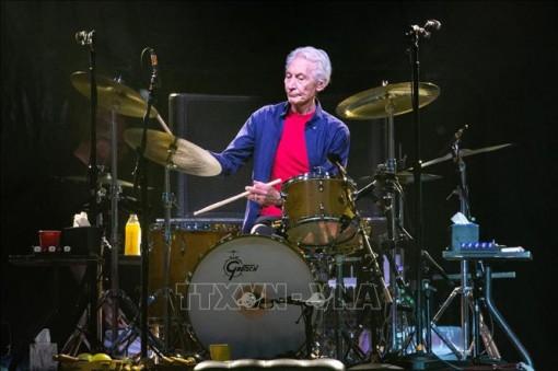 Charlie Watts - 'hòn đá tảng' của ban nhạc huyền thoại The Rolling Stones