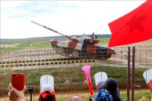 Army Games 2021: Đội tuyển Pháo binh đang ở tốp có khả năng giành HCĐ