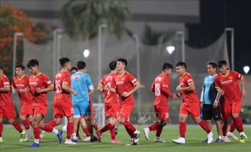 Đội tuyển Việt Nam chốt chiến thuật đối đầu Saudi Arabia