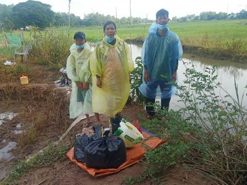 Đồn Biên phòng Cửa khẩu Vĩnh Hội Đông phát hiện 3 người nhập cảnh trái phép