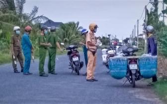 TX. Tân Châu: Lực lượng dân quân tự vệ chung sức chống dịch