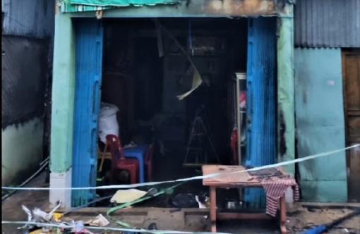 Công an TP. Châu Đốc truy tìm đối tượng liên quan tới vụ cháy nhà