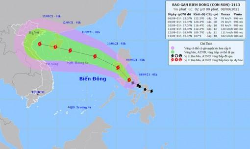Thời tiết ngày 8-9: Bắc Bộ và Trung Bộ mưa lớn, Tây Nguyên và Nam Bộ có mưa rào và dông