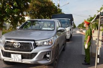 Thoại Sơn thực hiện các biện pháp tăng cường giãn cách xã hội theo Chỉ thị 15/CT-TTg của Thủ tướng Chính phủ