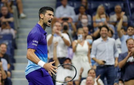 Đánh bại Zverev, Novak Djokovic thẳng tiến vào chung kết US Open 2021