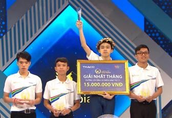 Nam sinh Quảng Ninh lội ngược dòng ngoạn mục giành vòng nguyệt quế Olympia