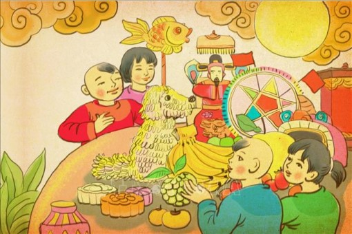 Trưng bày trực tuyến 'Trung thu sum vầy' tại Hoàng thành Thăng Long