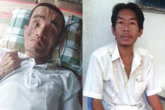 2 người đàn ông đau bệnh cần sự giúp đỡ