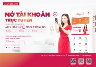 Agribank triển khai dịch vụ Mở tài khoản trực tuyến ngay trên điện thoại di động