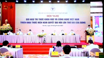 """Hội nghị trực tuyến toàn quốc """"Đội ngũ trí thức KH&CN Việt Nam triển khai thực hiện Nghị quyết Đại hội lần thứ XIII của Đảng"""""""