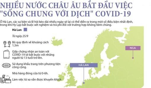 """Nhiều nước châu Âu bắt đầu việc """"sống chung với dịch"""" COVID-19"""
