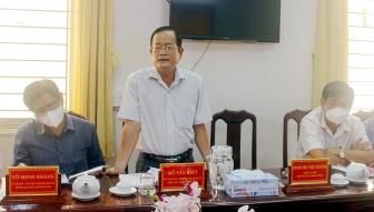 Họp thảo luận một số nội dung liên quan đến quy trình xây dựng, ban hành nghị quyết của HĐND tỉnh An Giang