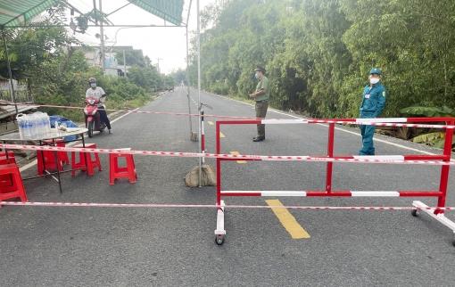 Tịnh Biên phong tỏa tổ 16, ấp Phú Nhứt, xã An Phú để phòng, chống dịch COVID-19