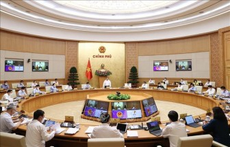 Nghị quyết Phiên họp Chính phủ thường kỳ tháng 8/2021